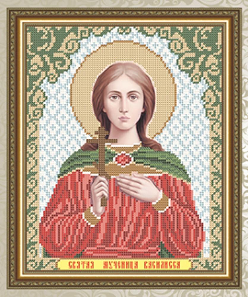 Икона святой василисы вышивка бисером