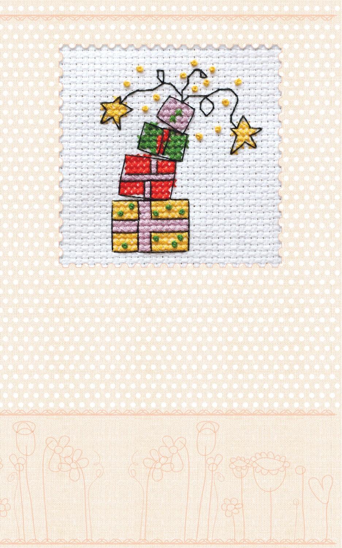 Схема вышивки крестом на подарок 151