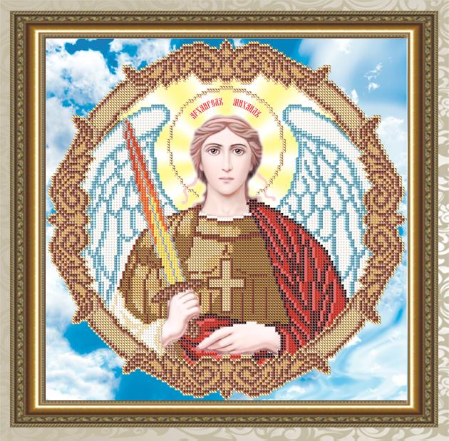 Архангел михаил икона вышивка