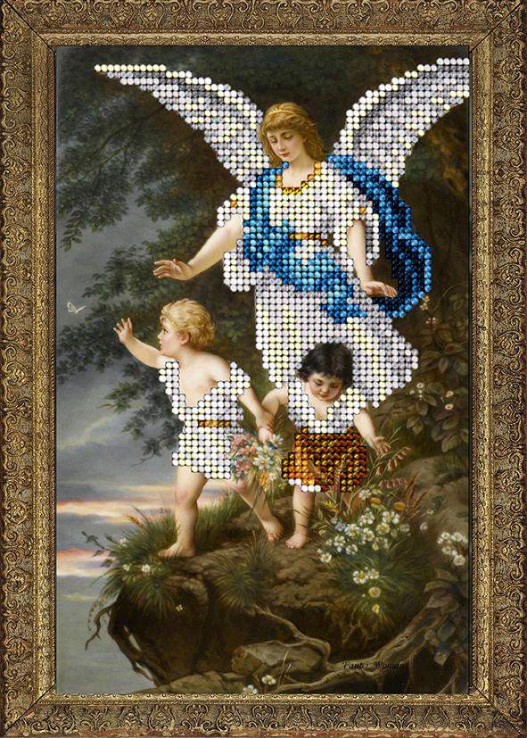 Схема вышивка с ангелом хранителем 672