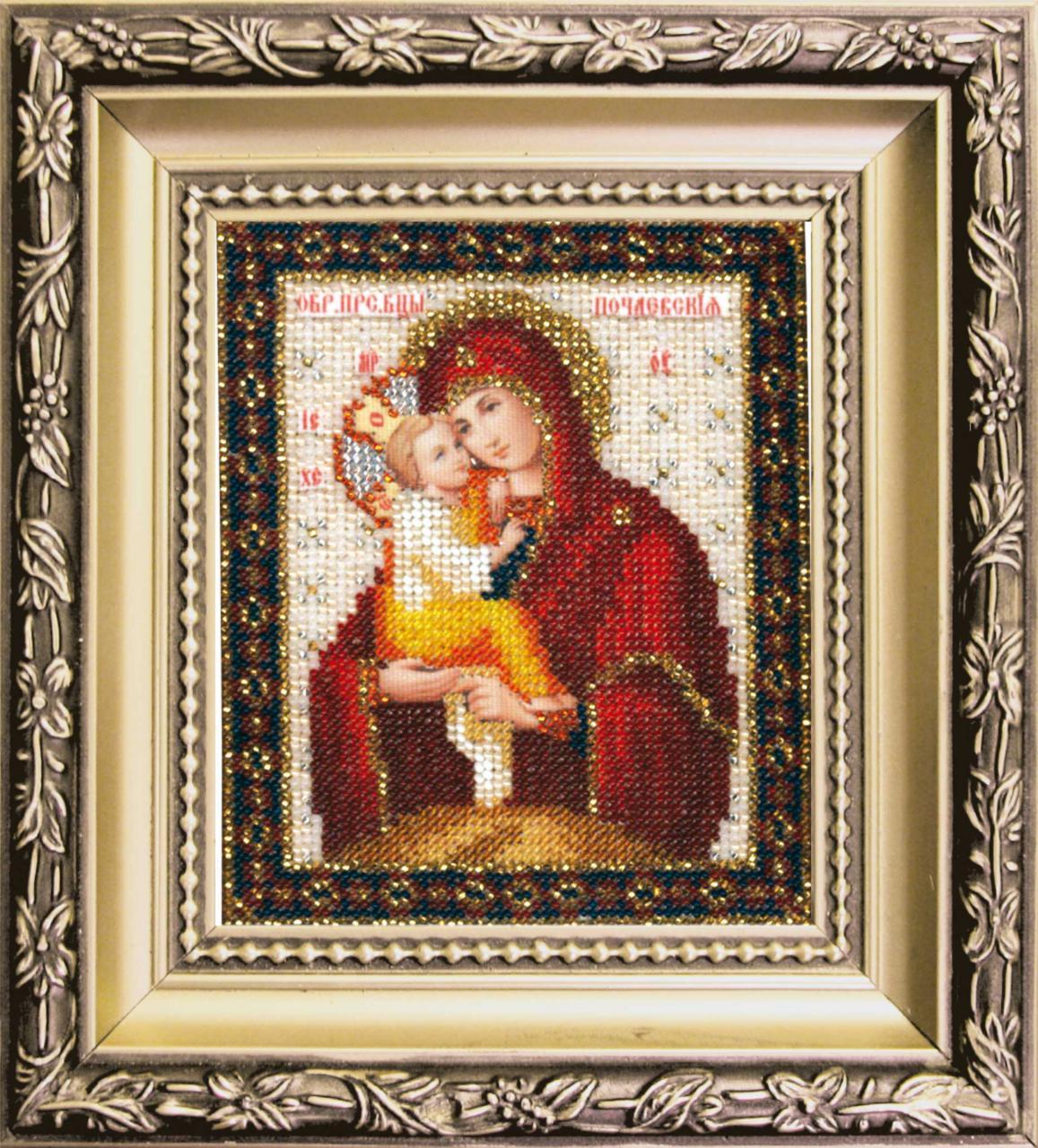 Наборы вышивки ювелирным бисером иконы 949