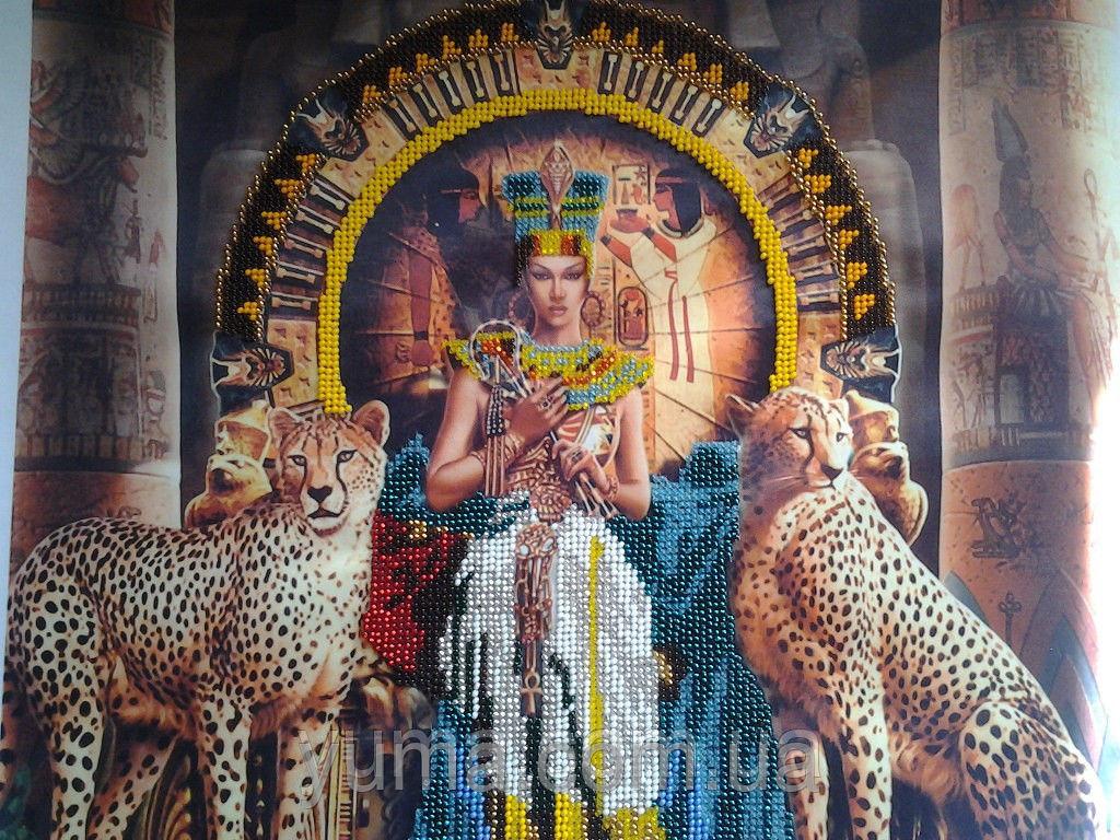 Вышивка бисером египетская тема 74