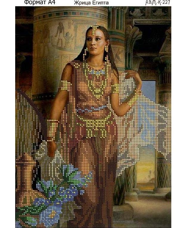 Вышивка бисером египетская тема 54