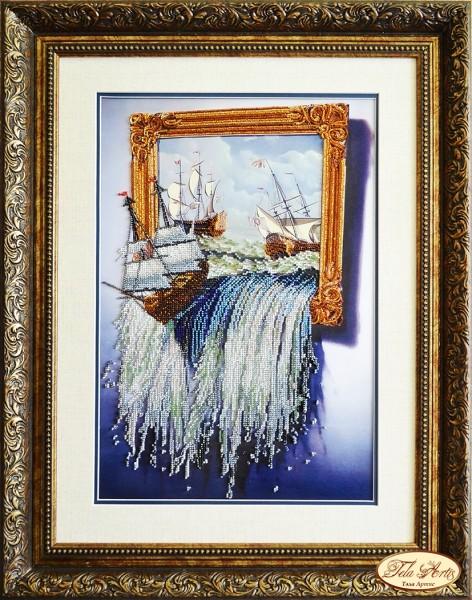 Вышивка бисером картины море 61