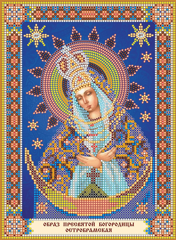 Схема вышивки богородицы 12