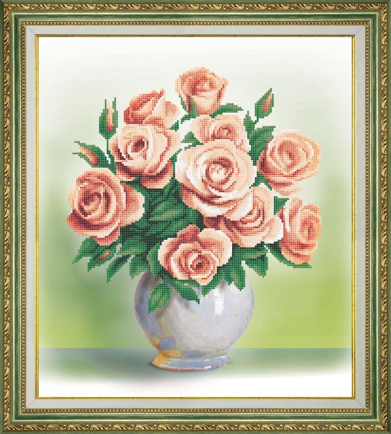 Вышивка бисером розы наборы 4