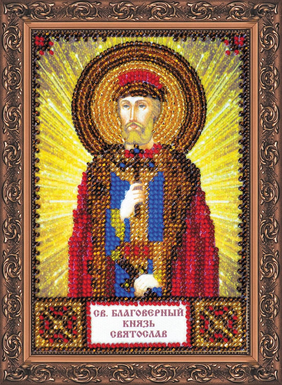 Икона святослава бисером