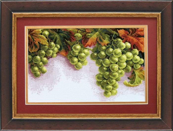 Набор для вышивки крестом виноград 239