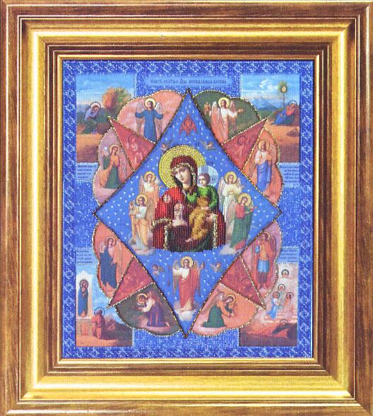 Вышивка бисером икона неопалимая купина 888