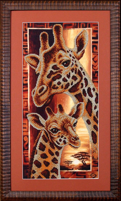 Жирафы вышивка значение 76