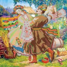 Рисунок на ткани для вышивки бисером Танец, , 106.00грн., АС-238, Абрис Арт, Украина