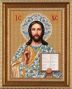 Рисунок на ткани для вышивки бисером Господь Иисус Христос