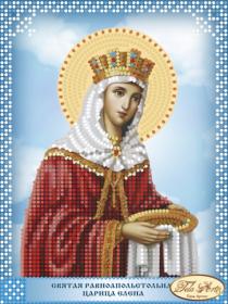 Схема вышивки бисером на атласе Святая Равноапостольная Царица Елена Tela Artis (Тэла Артис) ТД-105(1) - 30.00грн.