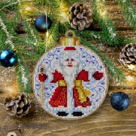 Набор для вышивки нитками по дереву FLW-014