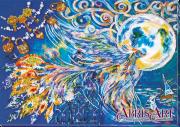 Набор для вышивки бисером на холсте Синяя птица счастья