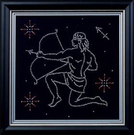 Набор для вышивки бисером Стрелец, , 122.00грн., БГ-012 МК, Магия канвы, Гороскоп