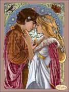 Схема для вышивки бисером на атласе Ромео и Джульетта