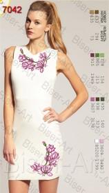 Заготовка женского льняного платья для вышивки бисером Biser-Art Bis7042 - 400.00грн.