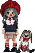 Набор для шитья куклы и мягкой игрушки Девочка с зайкой