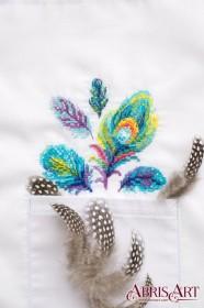 Набор для вышивки крестом на одежде Разноцветные Абрис Арт АНО-008 - 115.00грн.