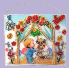Набор для вышивки бисером Подарочный конвертик Баттерфляй (Butterfly) F506