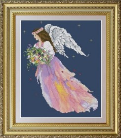 Набор для вышивки нитками Ангел цветов OLANTA VN-059 - 351.00грн.