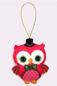 Набор для изготовления игрушки из фетра для вышивки бисером Совенок Баттерфляй (Butterfly) F002 - 54.00грн.