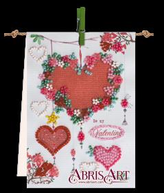Набор-флажок для вышивки бисером на холсте Гирлянда Абрис Арт АТ-002 - 87.00грн.