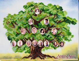 Набор для вышивки бисером на холсте Родовое древо Абрис Арт АВ-697 - 622.00грн.