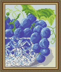 Набор для выкладки алмазной мозаикой В хрустале. Виноград Диптих 2 Art Solo АТ5546 - 248.00грн.