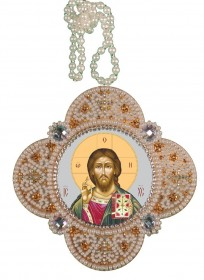 Набор для изготовления подвески Христос Спаситель Zoosapiens РВ3305 - 150.00грн.
