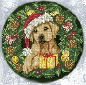 Набор для вышивания нитками Рождественские истории 24М