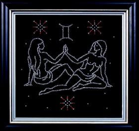 Набор для вышивки бисером Близнецы, , 102.00грн., БГ-006 МК, Магия канвы, Гороскоп