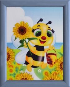 Схема для вышивки бисером Пчелка