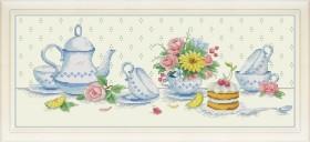Набор для вышивки нитками К чаю (художник Еремеева Светлана)