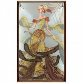 Набор для вышивки бисером на атласе Подиум. Мода, , 275.00грн., ДК2104-У, Новая Слобода (Нова слобода), Люди