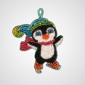Набор для вышивки подвеса Пингвинчик Zoosapiens РВ2018 - 135.00грн.