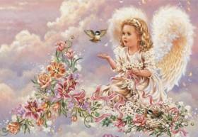 Набор для выкладки алмазной мозаикой Ангел Алмазная мозаика DM-141 - 760.00грн.