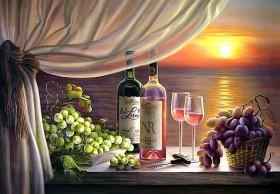 Набор для выкладки алмазной мозаикой Романтический ужин Алмазная мозаика DM-238 - 760.00грн.
