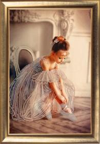 Набор для вышивания бисером Балеринка