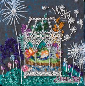Набор-миди для вышивки бисером на натуральном художественном холсте Колыбель мечты