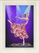 Набор для вышивки нитками (стиль Rococo) Танец цветов