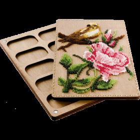 Органайзер с крышкой под вышивку бисером Птичка Волшебная страна FLZB-070 - 390.00грн.