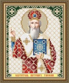 Схема вышивки бисером на авторской канве Святитель Тарасий Патриарх Цареградский Art Solo VIA5198 - 25.00грн.
