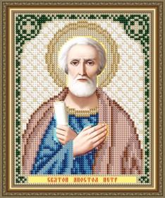 Схема вышивки бисером на авторской канве Святой Апостол Петр Art Solo VIA5309 - 25.00грн.