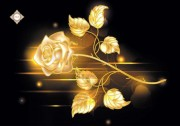 Схема для вышивки бисером на атласе Golden Rose