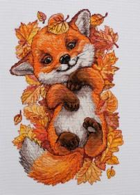Набор для вышивки крестом Первая осень