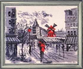 Набор для вышивки бисером Мулен Руж в Париже (по картине О. Дарчук) Баттерфляй (Butterfly) 381Б - 504.00грн.