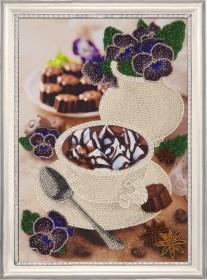 Набор для вышивки бисером Фиалковый натюрморт Баттерфляй (Butterfly) 160Б - 396.00грн.