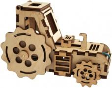 Набор деревянный конструктор  Трактор Чарiвна мить (Чаривна мить) F-003